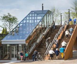 标题:菏兰Paleisbrug天桥公园Benthem Crouwel Architects万博体育手机版登录:2016-3-25