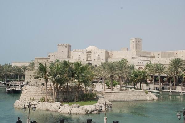阿拉伯迪拜城市景观——重庆风景园林网 重庆市风景