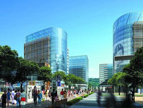 新野信联广场设计(图) 中国风景园林网