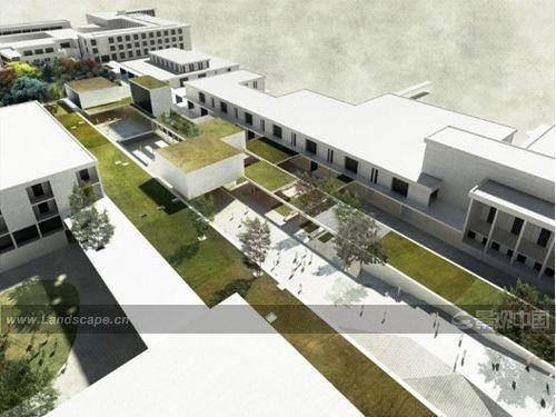 堪培拉大学校园设计大赛中获胜作品(图)