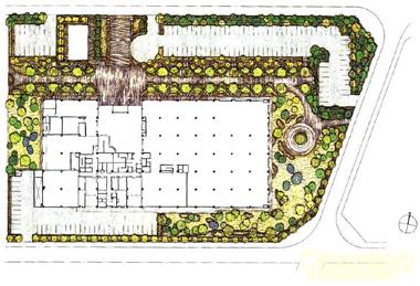 阳台造景设计图组
