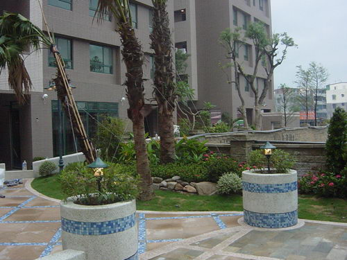 马赛克在园林中表现——重庆风景园林网 重庆市风景