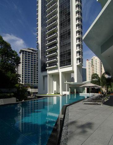 新加坡高层住宅景观——重庆风景园林网