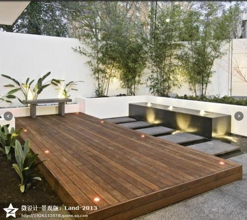 现代风格庭院景观