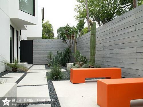 现代风格庭院景观图片