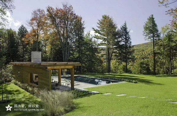 乡村别墅绿化景观赏析——重庆风景园林网