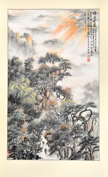 """我画""""巴渝十二景"""" 重庆风景园林网 重庆市风景园林学会"""