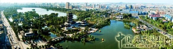 济南市园林规划设计研究院:济南大明湖风景名胜区规划