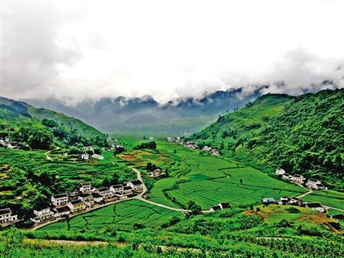 南川:第4批整村扶贫圆满收官 重庆风景园林网 重庆市