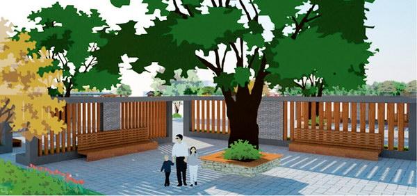 .3.4 康体健身区-济南商河县贾庄镇 新农村 社区公园景观设计构想