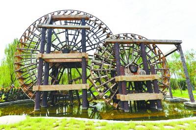 湖北:武汉园博园展园亮点抢先看 兰州园装超级水车