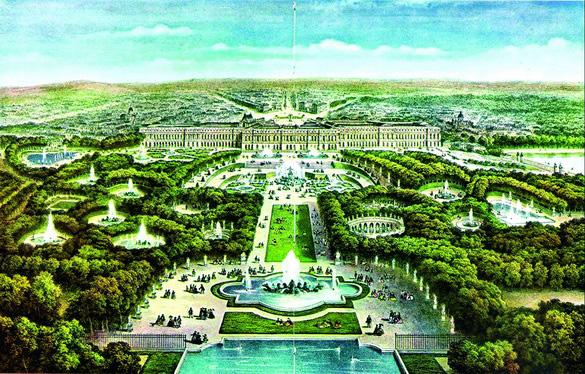 凡尔赛宫苑风格——重庆风景园林网 重庆市风景园林