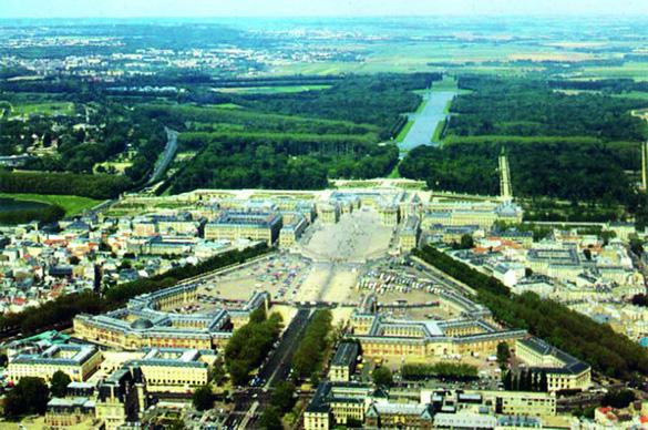 凡尔赛宫苑风格——重庆风景园林网