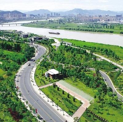 浙江:上虞林业发展再上新台阶 绘就城市美丽新画卷