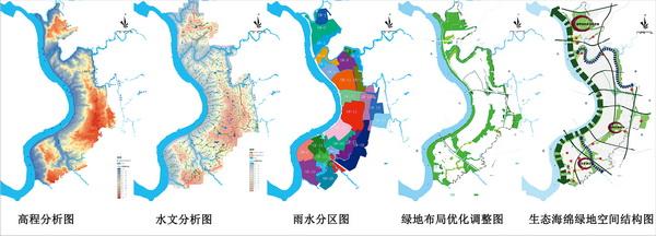 重庆主城区空间结构特征