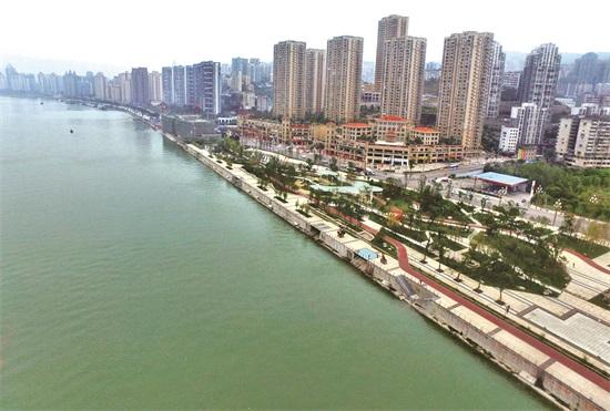 鸟瞰新涪陵 壮哉!美哉! 重庆风景园林网 重庆市风景