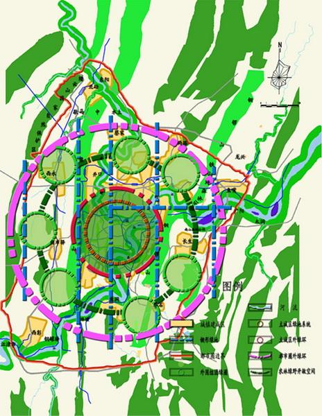 山地城市绿地系统规划问题及对策初探