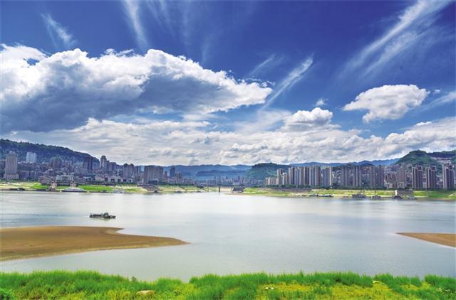 美丽如画万州城 重庆风景园林网 重庆市风景园林学会