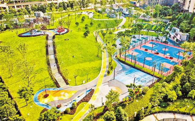 大渡口再添一座社区公园 重庆风景园林网 重庆市风景